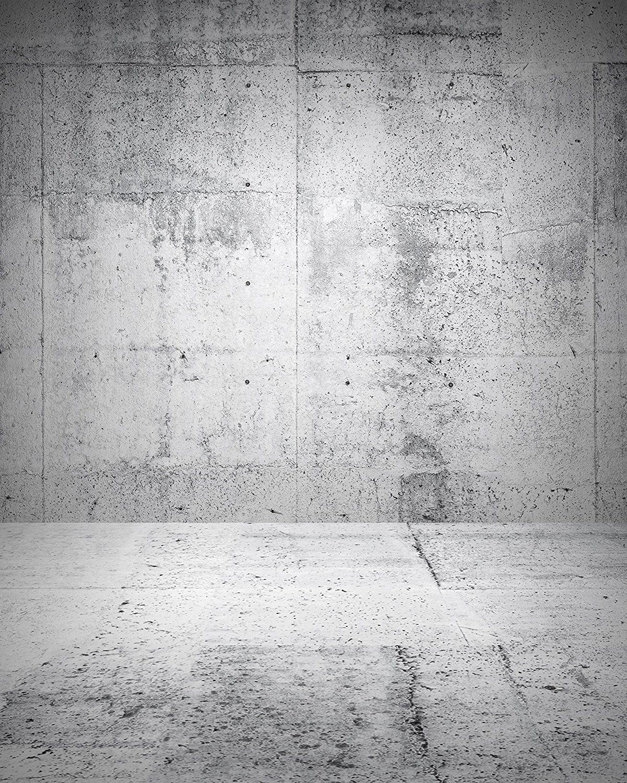 grey concrete bright gray rustic backdrops retro background wall computer cloth vinyl zoom