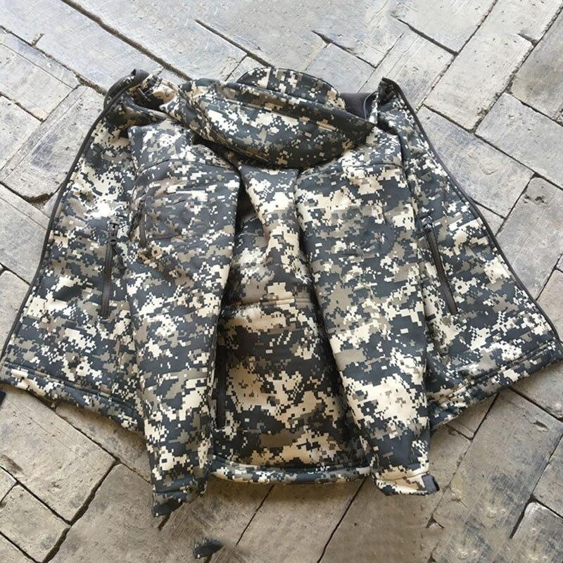 Outdoor Jackets Tactical Uniform Wear-resisting Windbreak Keep Warm Windbreak Soft Shell  Mountaineering Children Waterproof