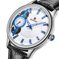 2019 Men's Deluxe Automatic Watch Belt Hollow Analog Clock New Japanese Movement Top Mechanical Wristwatch relogio masculino