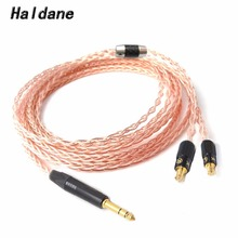 1 piece oyaide phono cartridge head shell lead wire for turntable single crystal copper hsr 102 made in japan free shipping Free Shipping Haldane 1/4 6.35 mm Hand Made 8 Croes Single Crystal Copper Headphone Upgrade Cable for CKS1100 E40 E50 E70