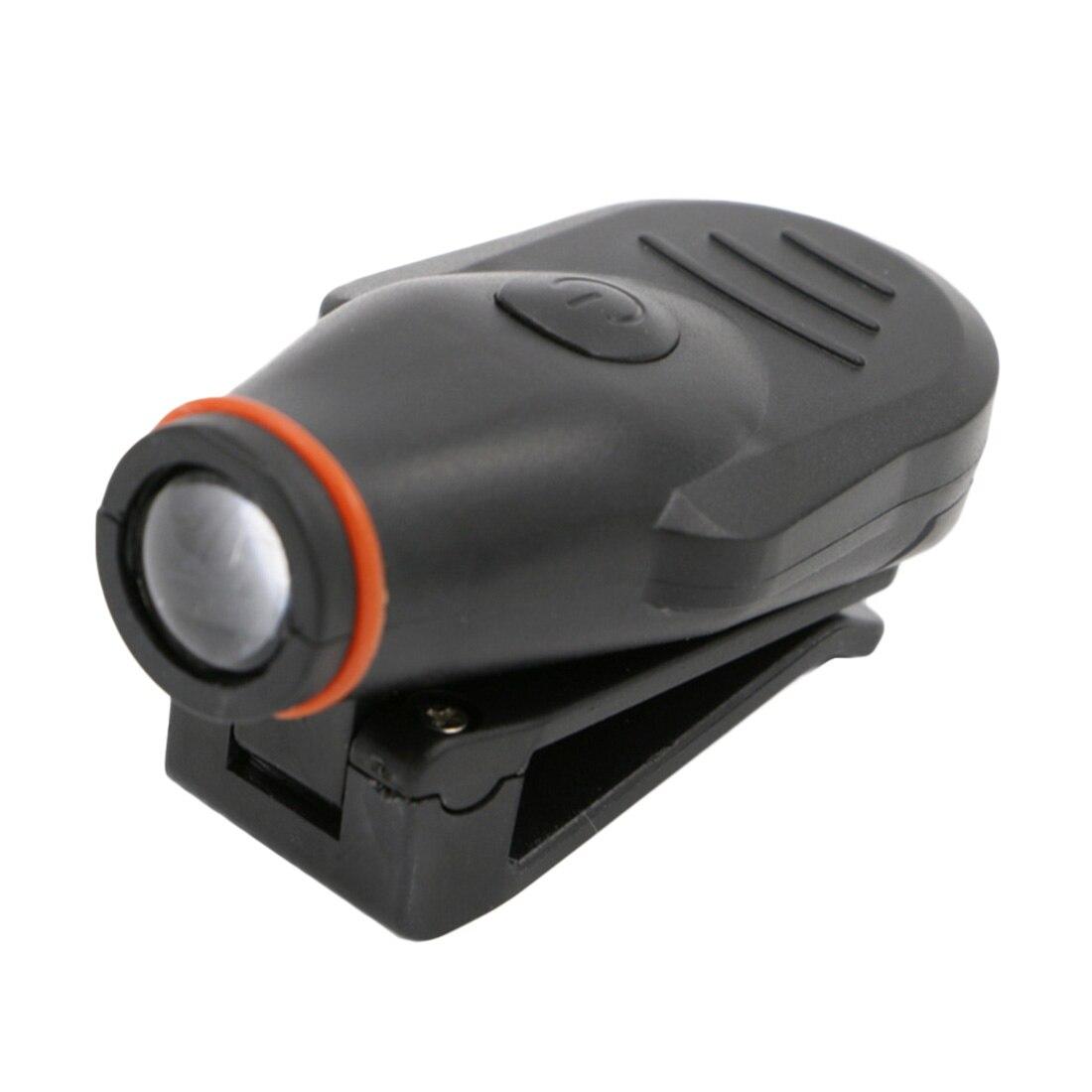 Новые мини-светодиодные фары лоб фонарик Кепки Hat факел головного света Открытый Рыбалка Кемпинг Охота Clip-On с Батарея