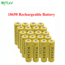 20pcs 18650 3.7V 9800mAh Rechargeable li-ion Battery  for Led flashlight batery litio battery Cell