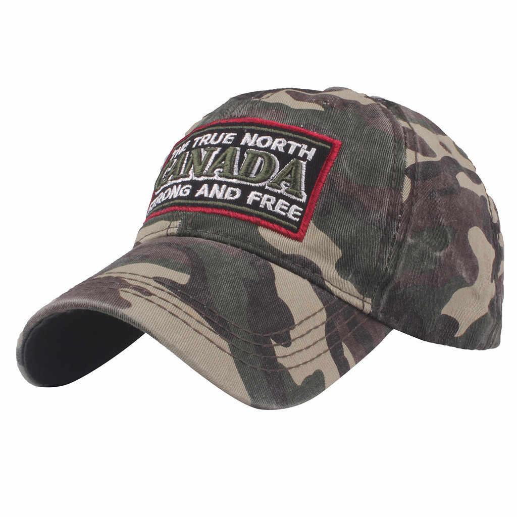 JAYCOSIN 2019 חדש אופנה נשים גברים קנדה בייסבול כובע בייסבול כובע כובעים רקום נשיא כובע סיטונאי dropshipping 515W