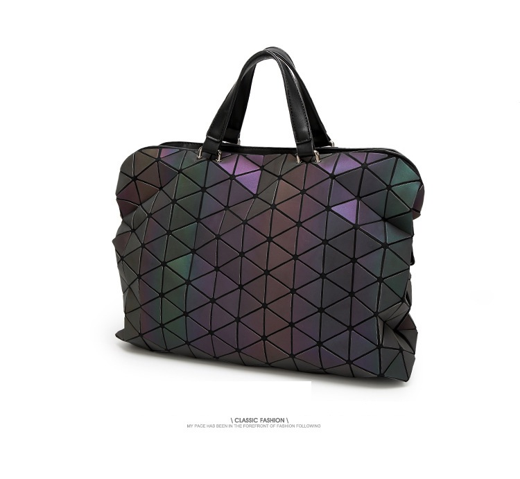 Maelove Luminous Bag 2019 De gama alta geométrica Lattic Diamond - Bolsos - foto 2
