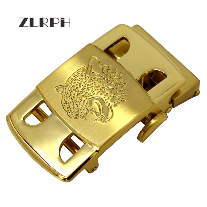 ZLRPH 2018 New Fashion Designer Belts For Men Buckle Ratchet Luxury Men Belt Automatic Wholesale