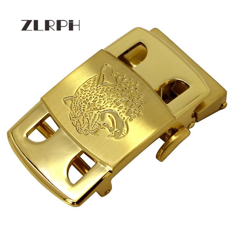 ZLRPH 2018 New Fashion Designer Belts For Men Buckle Ratchet Luxury Men Belt Automatic Wholesale