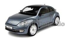 Gris Kyosho 1:18 Volkswagen VW Beetle coupé Diecast modèle de voiture statique cadeaux classique véhicule