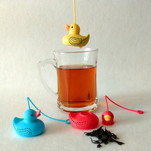 Little Yellow Duck Silicone Tea Infuser Strainers Filter