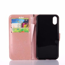 Luxury Leather Wallet Phone Case For iPhone X 5 5S Se 6 6S 7 8 Plus Flip Cover Card Slot Stand Magnetic Fundas For iPhone 4 4S