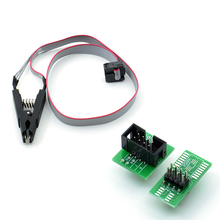Wholsale SOIC8 SOP8 Test Clip For EEPROM 93CXX/25CXX/24CXX in-circuit programming on USB Programmer TL866CS TL866A