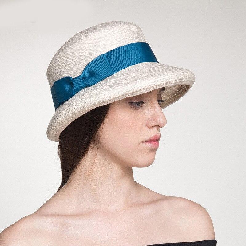 Sedancasesa marque mode printemps été visières chapeau de soleil plage chapeaux décontracté paille filles casquettes Femme Sombreros