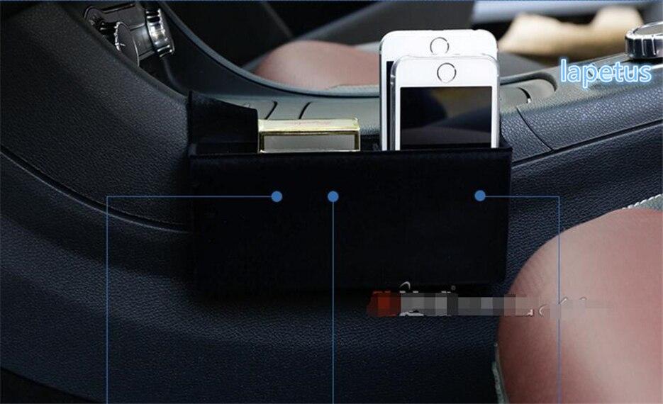 Lapetus pour Mercedes Benz GLA 200 220X156 2018 boîte de rangement boîte de rangement téléphone plateau accessoire décoration cadre couverture garniture