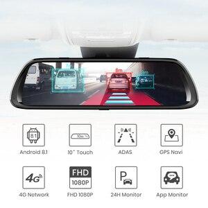 """Image 3 - Junsun A960 Android 8.1 ADAS 2G+32G 10"""" Stream Media dash cam camera car camera recorder dvr dashcam GPS navigation 1080P WIFI"""