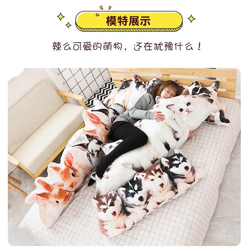 realista bulldog husky casa presente da menina da criança bonito