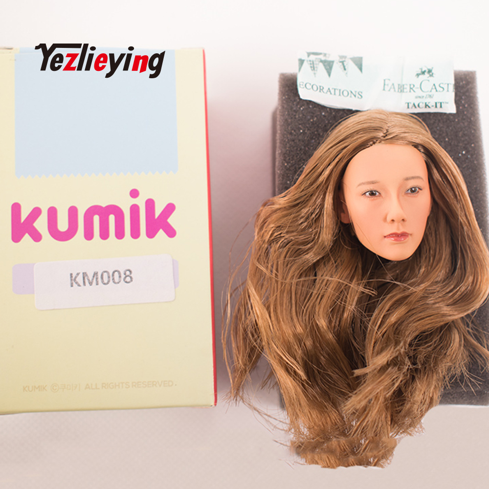 KUMIK KM008 1//6 Beauty Headplay Female Head Sculpt