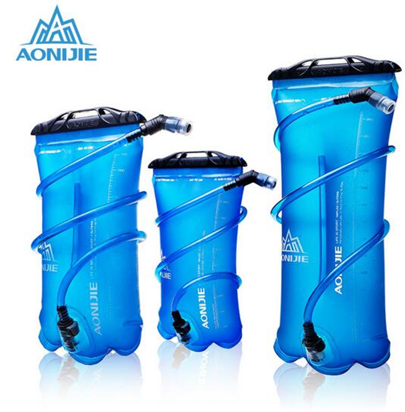AONIJIE Soft Reservoir Water Bladder Hydration Pack Storage Bag BPA Free 1.5L 2L 3L Running