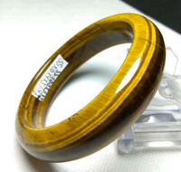Genuine Natural Blue&Gold Tiger Eye Gems Bangle Inner Diameter 58 60mm AAAA