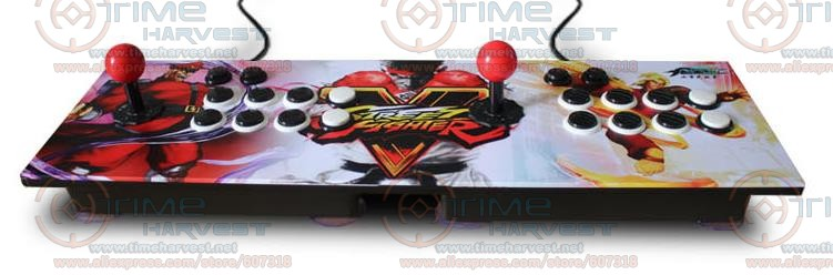 Zero Delay Arcade USB Joystick 2 player Fighting Game console with normal 8 ways Joysticks Locking Button for PC MAME Android nintendo gba video game cartridge console card metroid zero mission eng fra deu esp ita language version