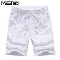 MISNIKI 2018 Men S Beach Short Summer Casual Shorts Cotton Fashion Style Mens Shorts Bermuda