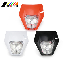 Motorcycle 2017 Headlight Head Light font b Lamp b font For KTM EXC SX SXS EXCF