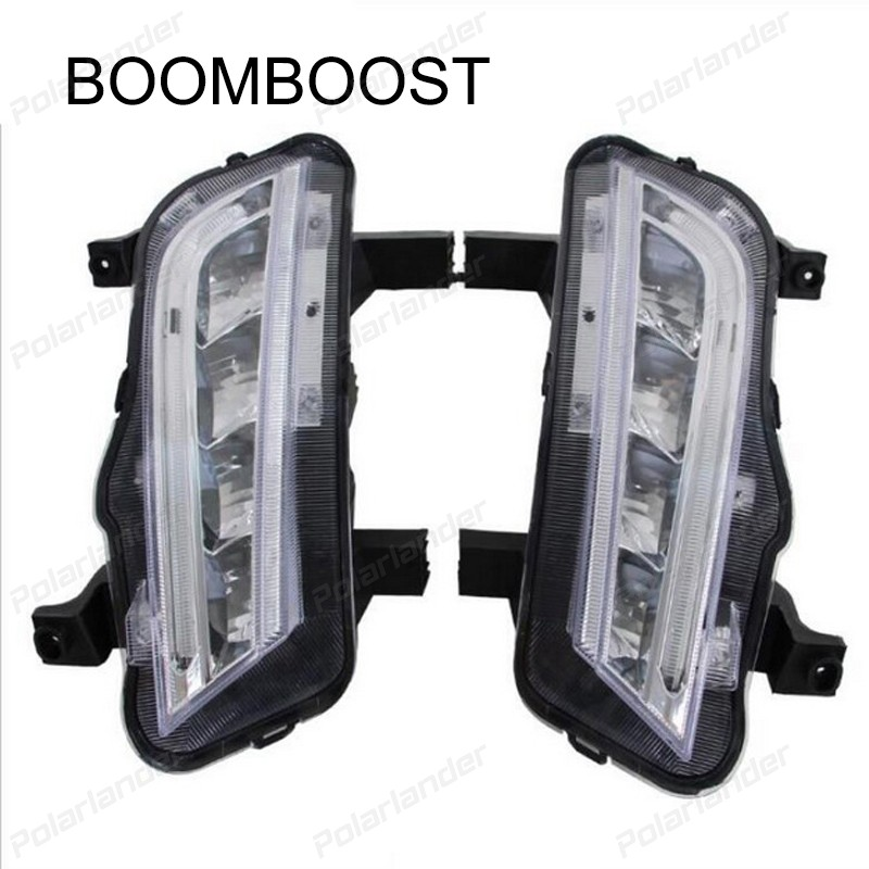 BOOMBOOST 1 set For Chevrolet Cruze 2015 daytime running lights car styling Turn signal lamps