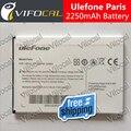 Ulefone Paris Lite acumuladores de bateria 2250 mAh de Alta qualidade New Substituição acessório Para ulefone paris X Celular