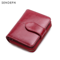Sendefn 2018 New Simple Wallet Leather Small Women S Purse Casual Zipper Women Wallets With Coin
