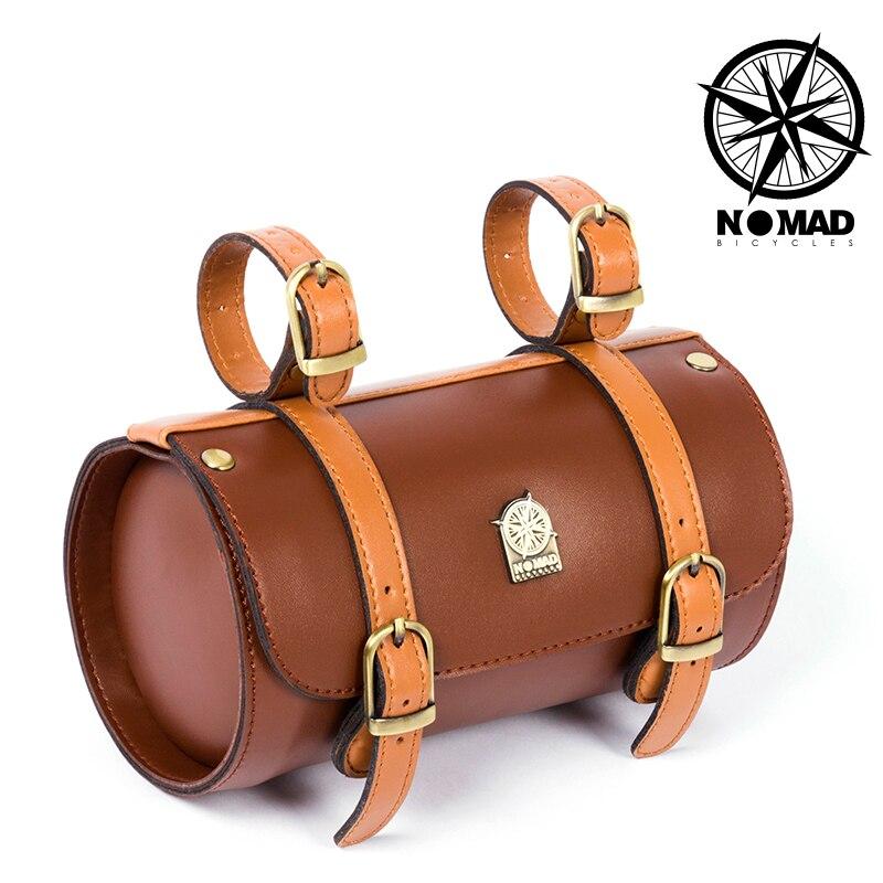 Nomad урожай велосипед мешок женщин сумка сумка для инструментов многофункциональный велосипед мешок Велосипеда седло марочное велосипедов ...