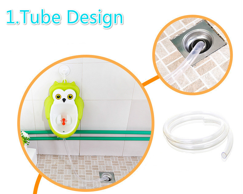 Baby boy Urinal Pee Frog and Owl baby toilet training Colored Children Potty Baby Urine Groove PP hooked Urinal for kids (19)