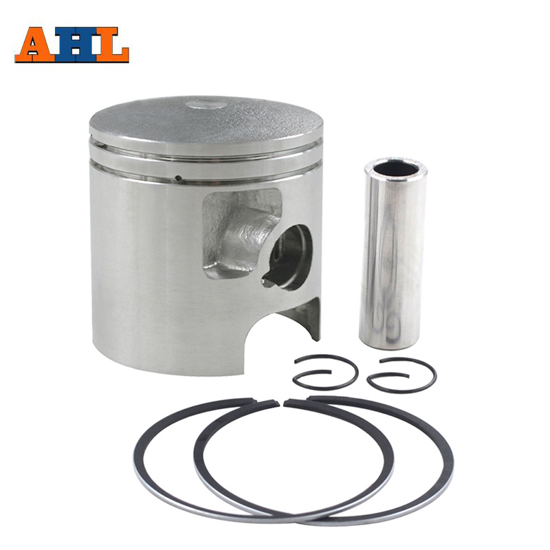 AHL Bore Size 56 56.25 56.5 57 mm Motorcycle Standard Piston Kit Pin Rings Clips Set For Kawasaki KDX125 KDX 125 1990-1999