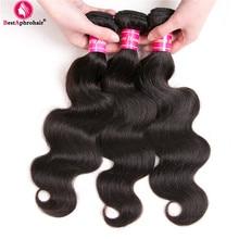 Aphro Haar Braziliaanse Haarbundels Body Wave 8-28 inch Menselijk Haar Weave 3 Bundel Aanbiedingen Tangle Gratis NonRemy Haar inslag Natuurlijke Kleur