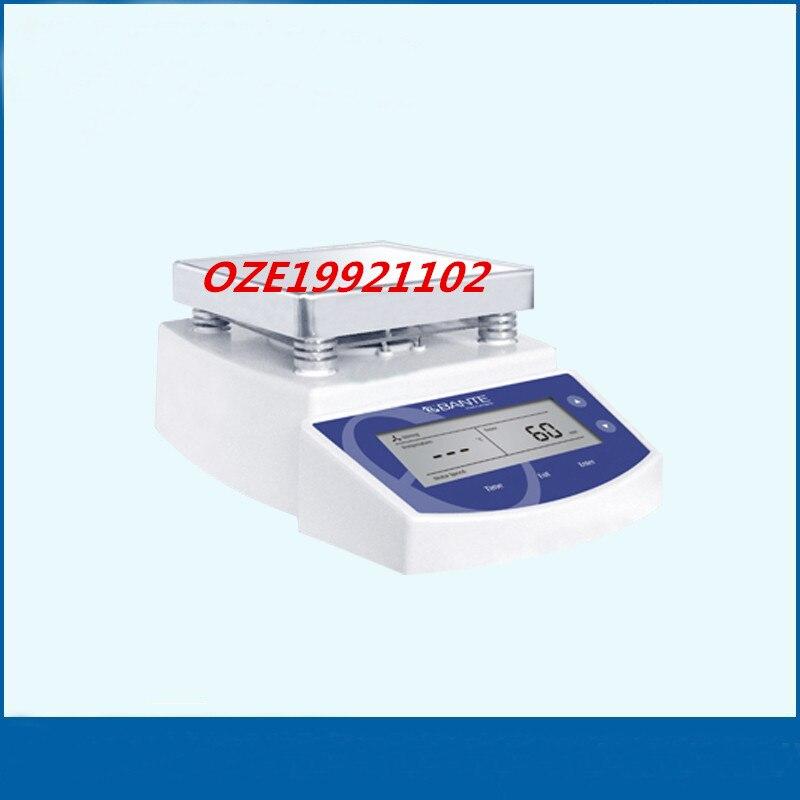 1PCS Digital Magnetic Stirrer,Lab magnetic stirrer LCD display 0~200 degree AC 220V/50Hz lab magnetic stirrer mini magnetic mixer 1l 220v