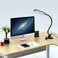 5 W USB Flexible Clip de La Abrazadera Lámpara de Escritorio Regulable Lámpara de Mesa LED Luz de Trabajo Luz Del Libro, Ojo-protegida Ajustar Modos de Iluminación