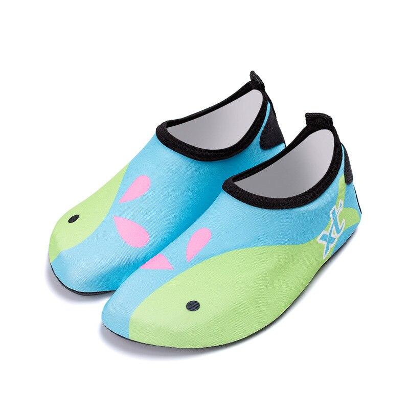 Kids Water Shoes Lightweight Quick-Dry Aqua Socks For Beach Pool Slide Swimming Yoga Cartoon Children Shoes