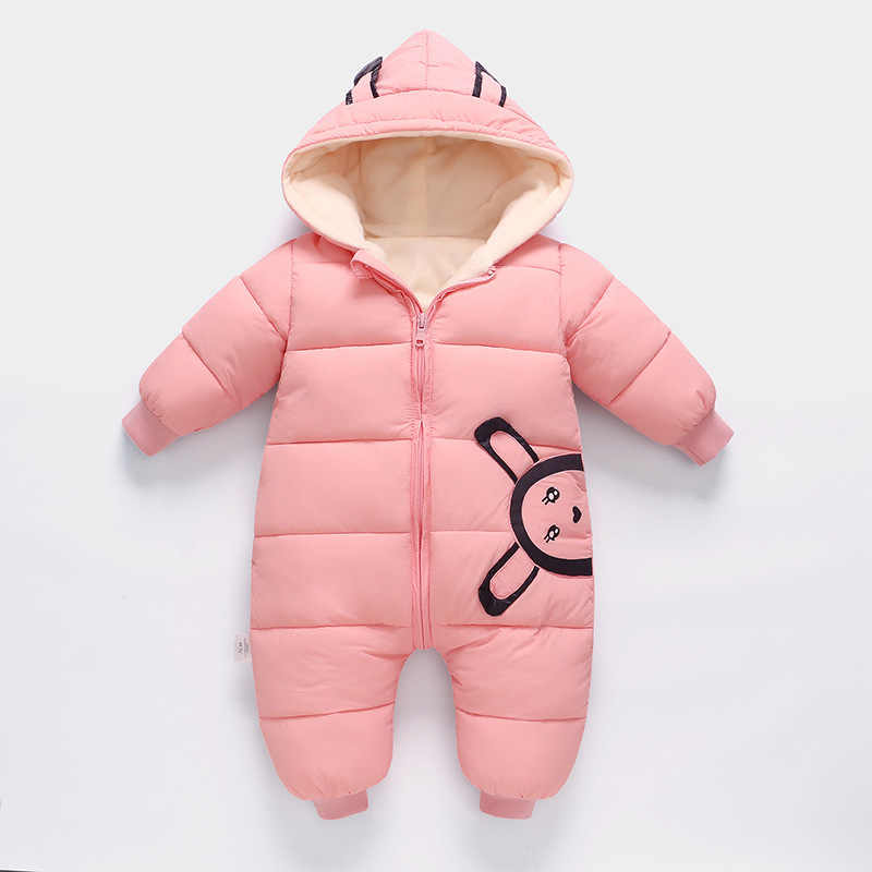 27d632487b9d Detail Feedback Questions about 30 degrees 2018 New born Baby Wear Winter  Jumpsuit Snowsuit Boy Warm Romper Down Cotton Girl clothes infant overcoat  ...