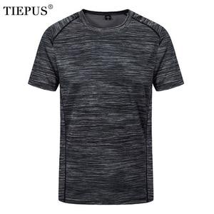 plus size L~5XL, 6XL, 7XL, 8XL t shirt men's creative simple round neck quick-drying breathable t shirt Men's summer t shirt(China)
