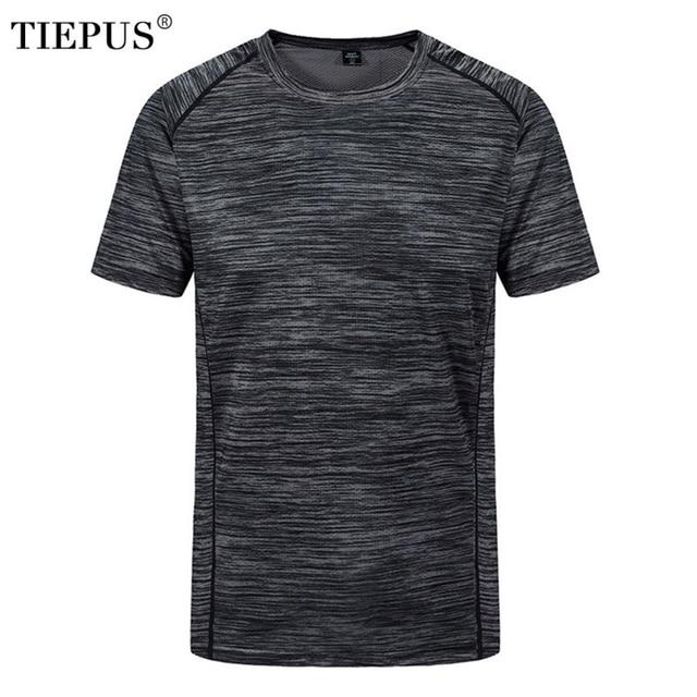 plus size L~5XL, 6XL, 7XL, 8XL t shirt men's creative simple round neck quick-drying breathable t shirt Men's summer t shirt