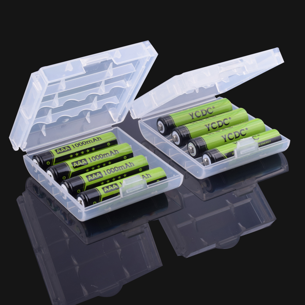 Ycdc High Capacity Aa 3000mah 1.2 V Ni-mh Rechargeable Batteries Lr6 Hr6 Kaa Mn1500 Bty Am3 Battery Replacement With Box Case Comfortable And Easy To Wear Power Source