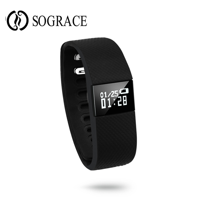New Smart Wristband TW64 Smart band sleep Monitor pulsometer Fitness Tracker for ios 7.0 Android 4.3 Pedometer Bracelet