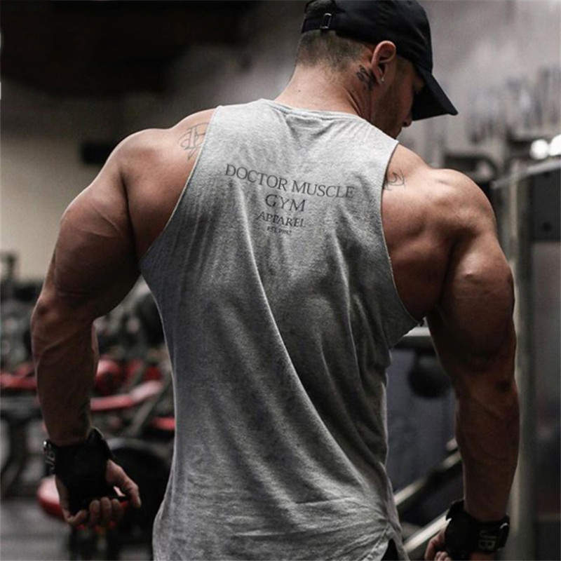 Fitness Men Tank Top t Shirt men-6