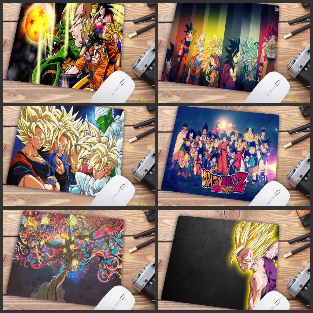 Mairuige Big Promotion Dragon Ball Anime Rubber Gaming Mousepad Desk Mat Anti-slip Keyboard Pad Small  Gamer Mouse Pad 22X18CM