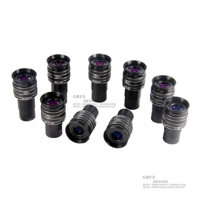 Тмв Планетарная oculars 2,5/3,2/4/4,5/5/6/7/7,5/8/9 мм фокусное расстояние высокой мощности планета окуляр натуральная кожа