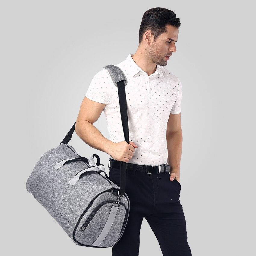 Modoker ใหม่กระเป๋าเดินทางกระเป๋าสะพายสายคล้องกระเป๋าแฟชั่นธุรกิจกระเป๋าถือแขวนเสื้อผ้าหลายกระเป๋าคุณภาพสูง-ใน กระเป๋าเดินทาง จาก สัมภาระและกระเป๋า บน AliExpress - 11.11_สิบเอ็ด สิบเอ็ดวันคนโสด 1
