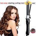 25 мм Автоматические щипцы для завивки волос  щипцы для завивки волос из титана  профессиональные инструменты для укладки волос с длинным кл...