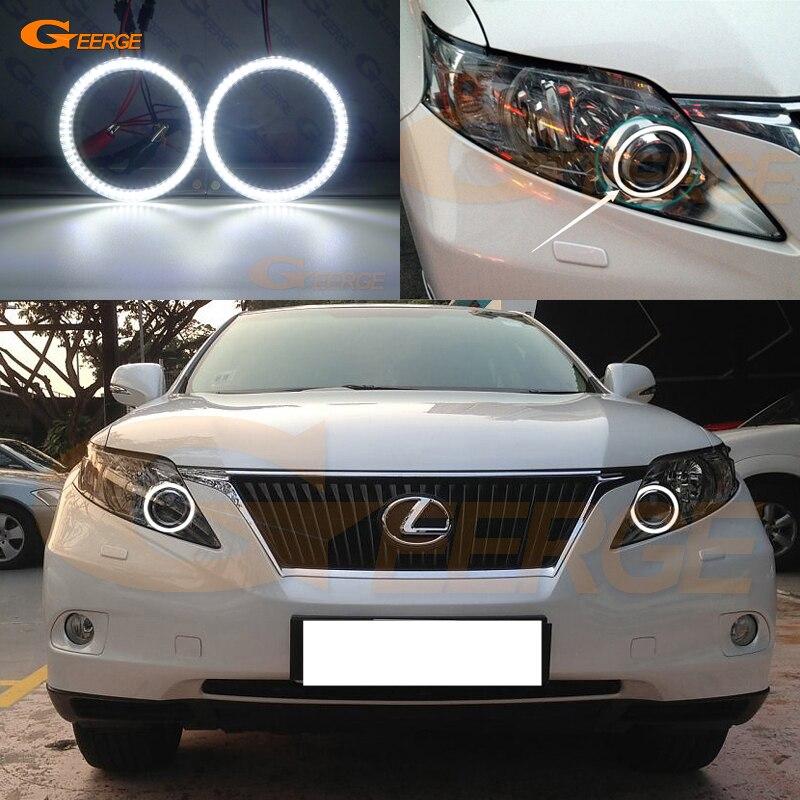 Für Lexus RX450h RX350 RX270 2010 2011 2012 smd led Angel Eyes kit ...