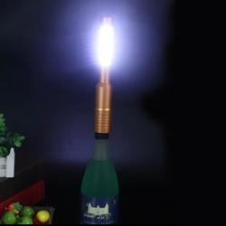 Волшебный светодиодный серебристый медная бутыль, крышка для ночного освещения, колпачок для винной бутылки, вспышка для домашнего декора