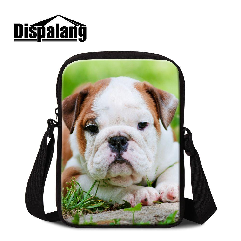 Men's Bags Amicable Dispalang Novelty Satchel Messenger Bag Women Mini Crossbody Bags Bulldog Prints Travel Shoulder Bag Kids Schoolbag Leisure Bags Chills And Pains