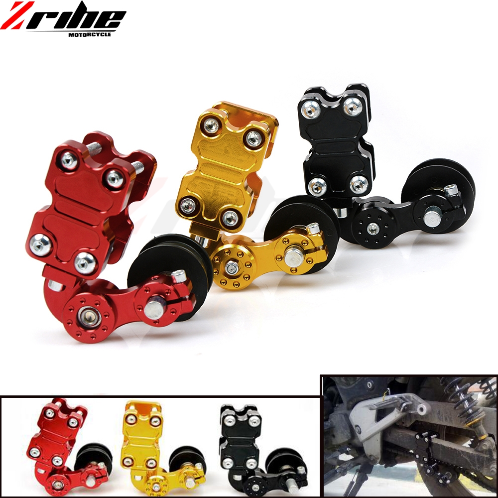 NEW Motorcycle Aluminum Roller Adjuster Chain Tensioner For Dirt Pit Bike ATV