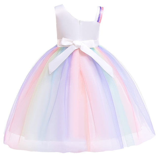 Rainbow Sequins Unicorn Dress