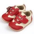 Zapatillas de deporte del bebé para las niñas zapatos de bebé zapatillas de deporte de cuero cuna de zapatos infantiles primera zapatos del caminante del niño del bebé zapatos de los niños calzado